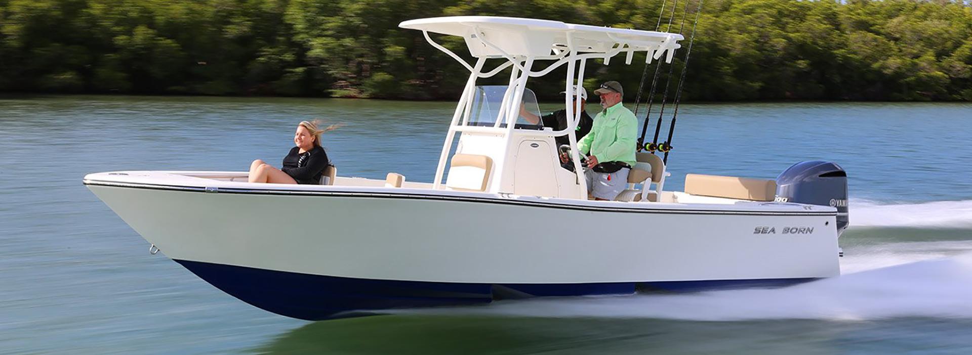 Sea Born Boat Gregg Orr Marine
